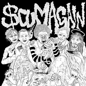 Scum Again - self titled